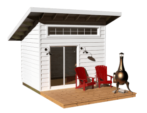 Exterior Bunkie - Expedition White