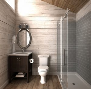 Mountanieer Bunkie Bathroom