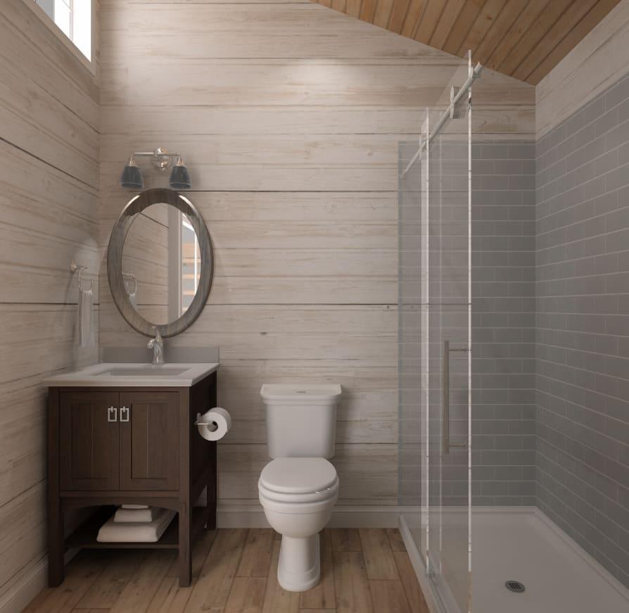 Voyageur Bunkie Bathroom